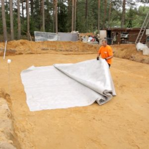 Спанбонд в строительстве